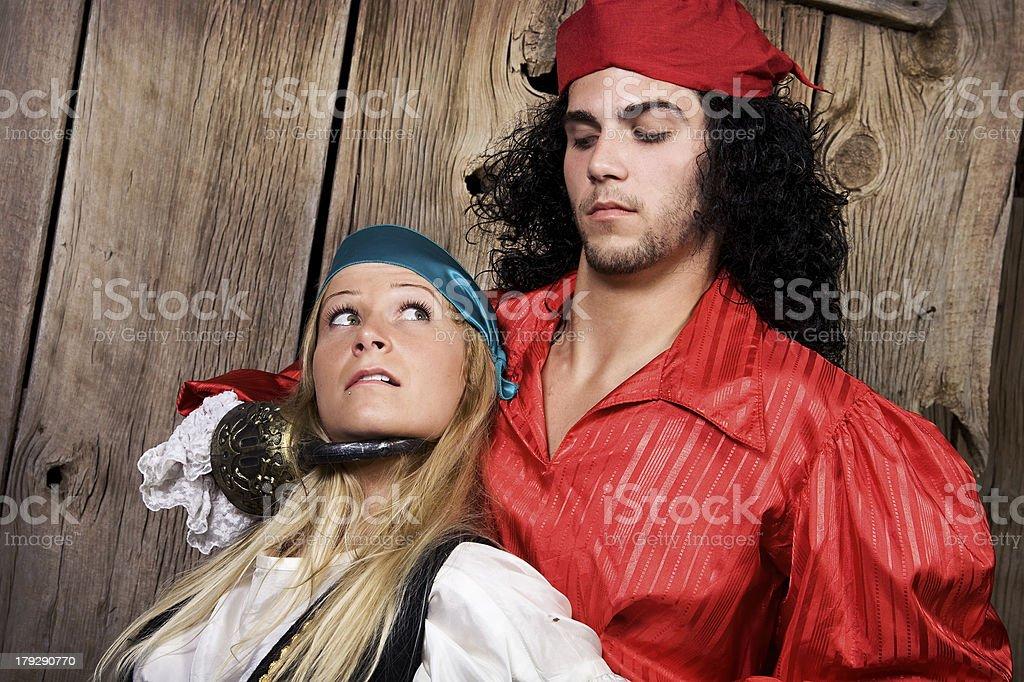 Pirates! stock photo