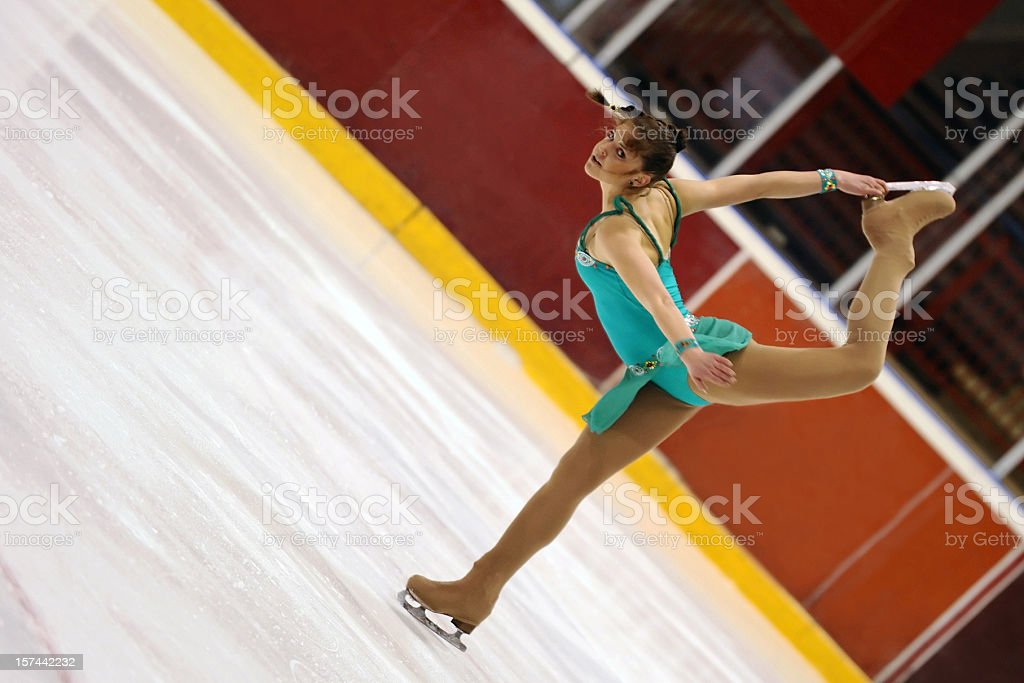 Pirouette stock photo