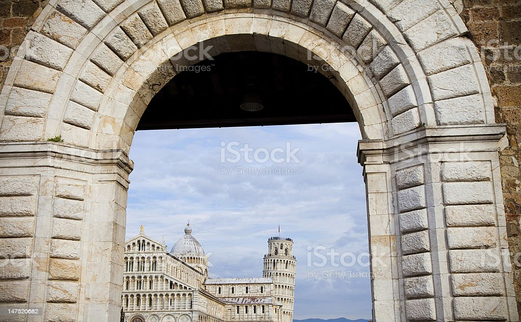 Pisa Italy stock photo
