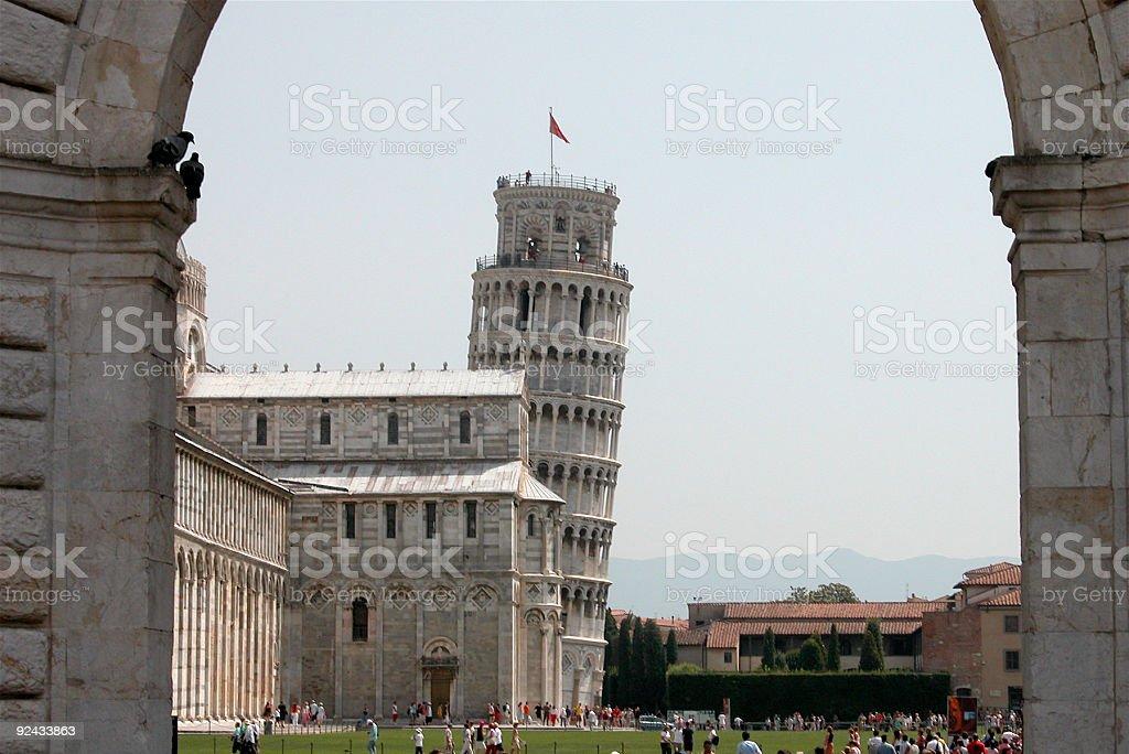 Pisa Italy tower stock photo