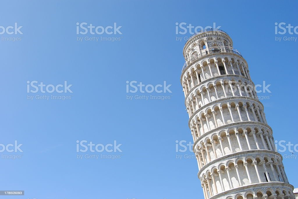 Pisa - Leaning tower stock photo