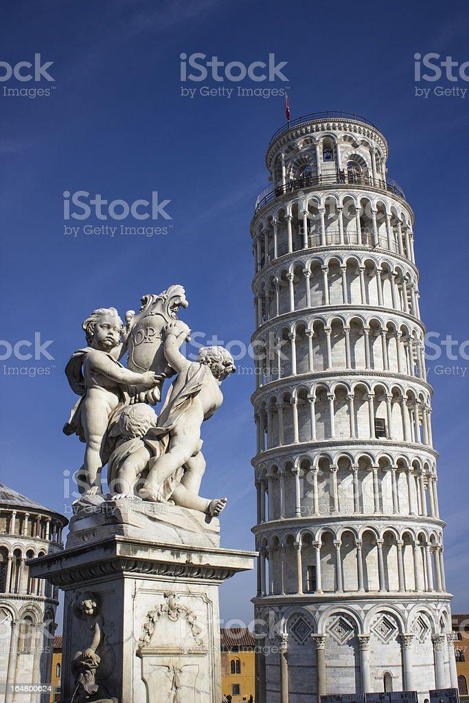 Pisa Piazza dei Miracoli stock photo
