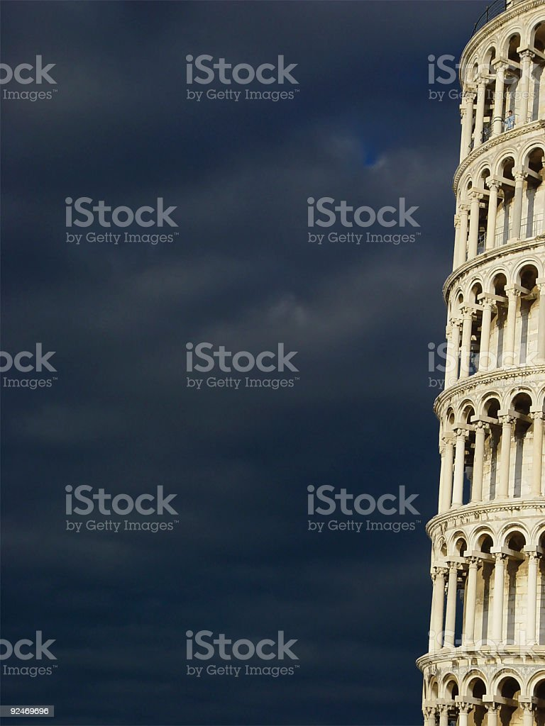 Pisa - The Leaning Tower stock photo