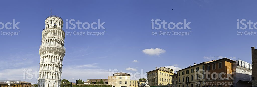 Pisa Tour Pendente leaning tower Piazza dei Miracoli Tuscany Italy stock photo