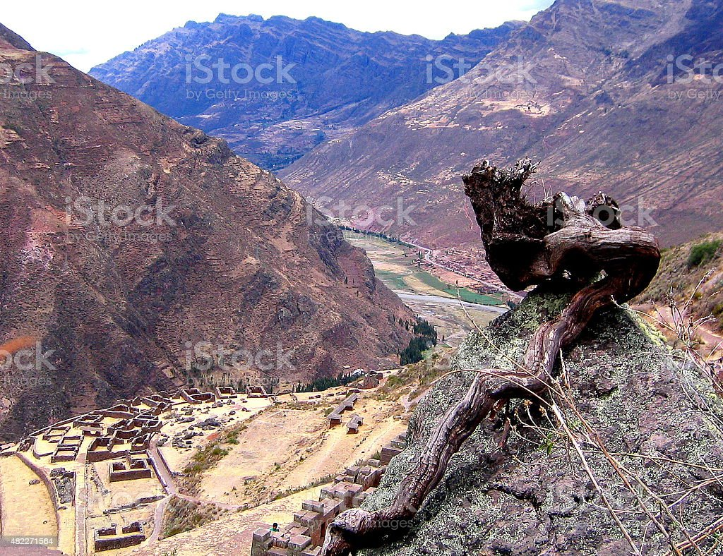 Pisac, Sacred Valley stock photo
