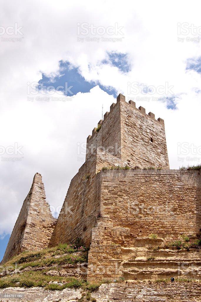 Pisana tower stock photo