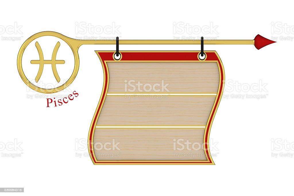 Pisces. stock photo