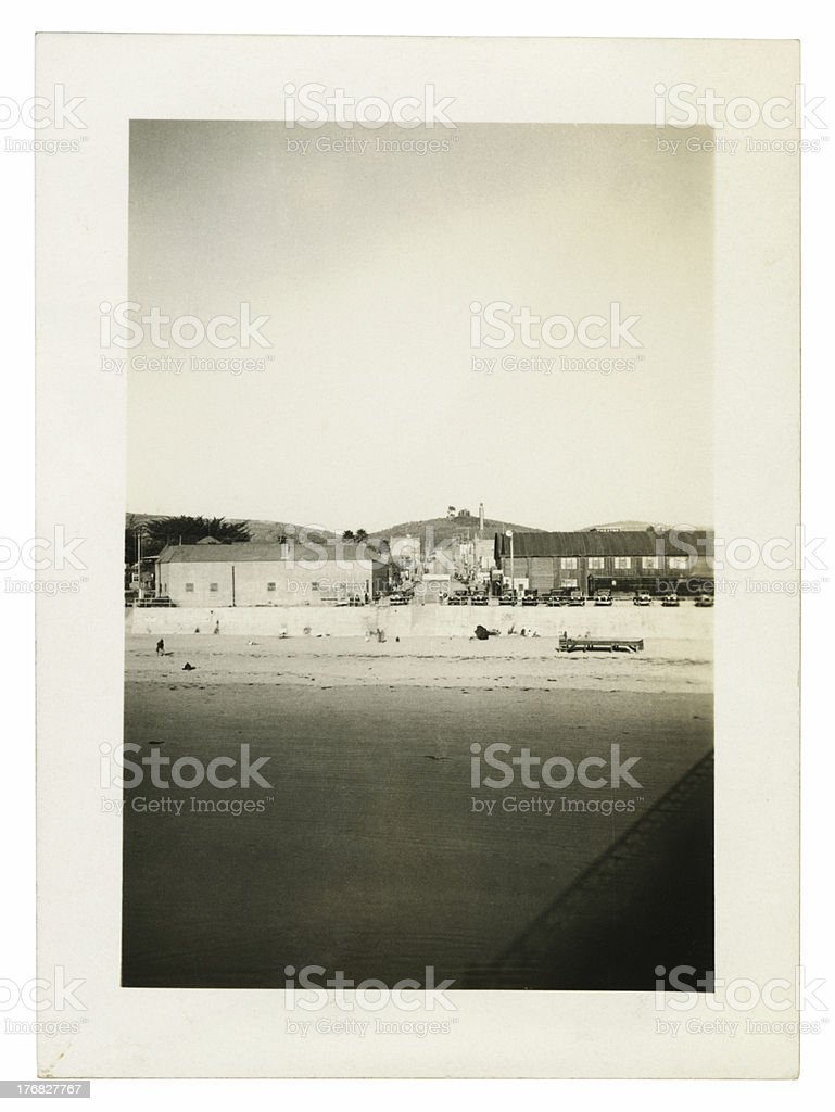 Pismo Beach California at a Distance royalty-free stock photo