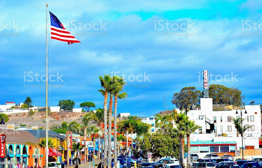 Pismo Beach stock photo