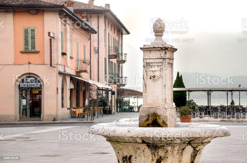 Pisogne - Iseo Lake - Brescia stock photo