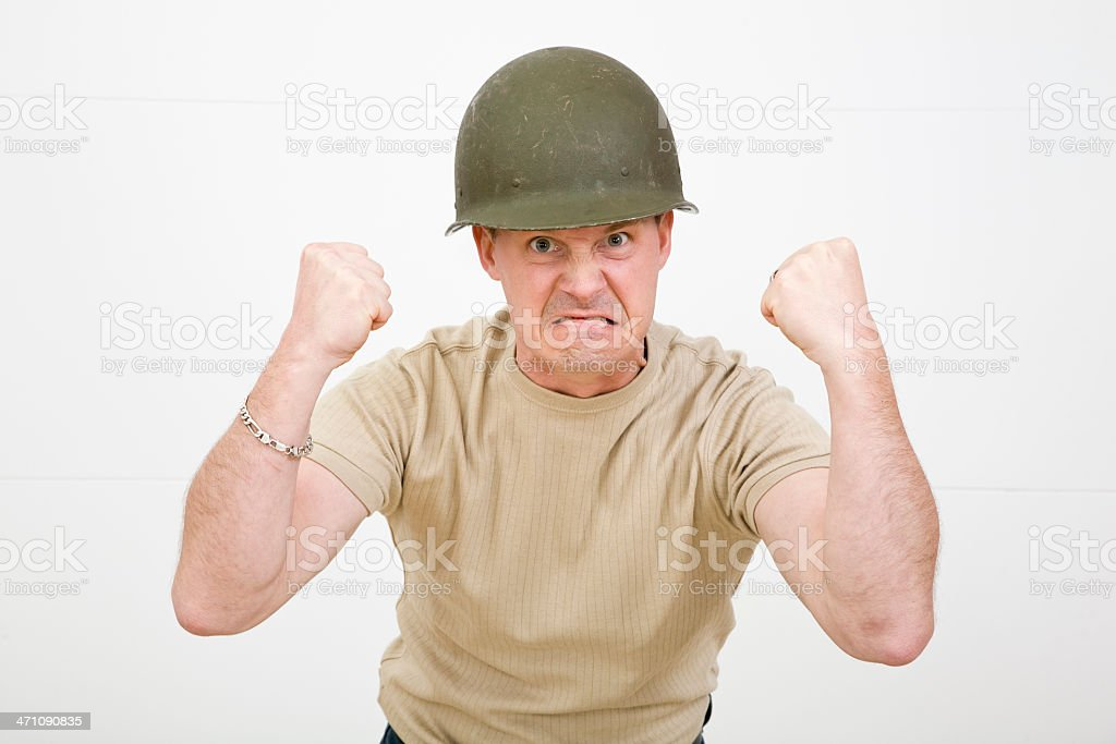 Pissed Off! royalty-free stock photo