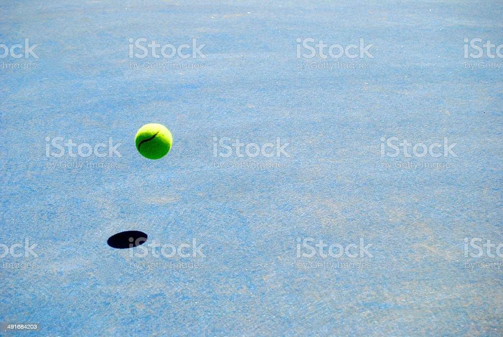 Pista de tenis stock photo