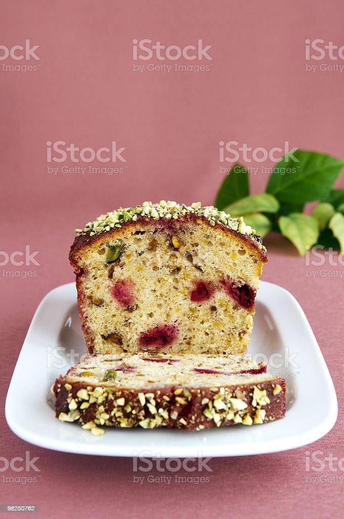 Gâteau à la pistache photo libre de droits