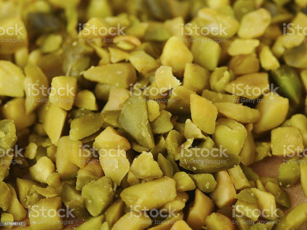 Pistachio chopped royalty-free stock photo