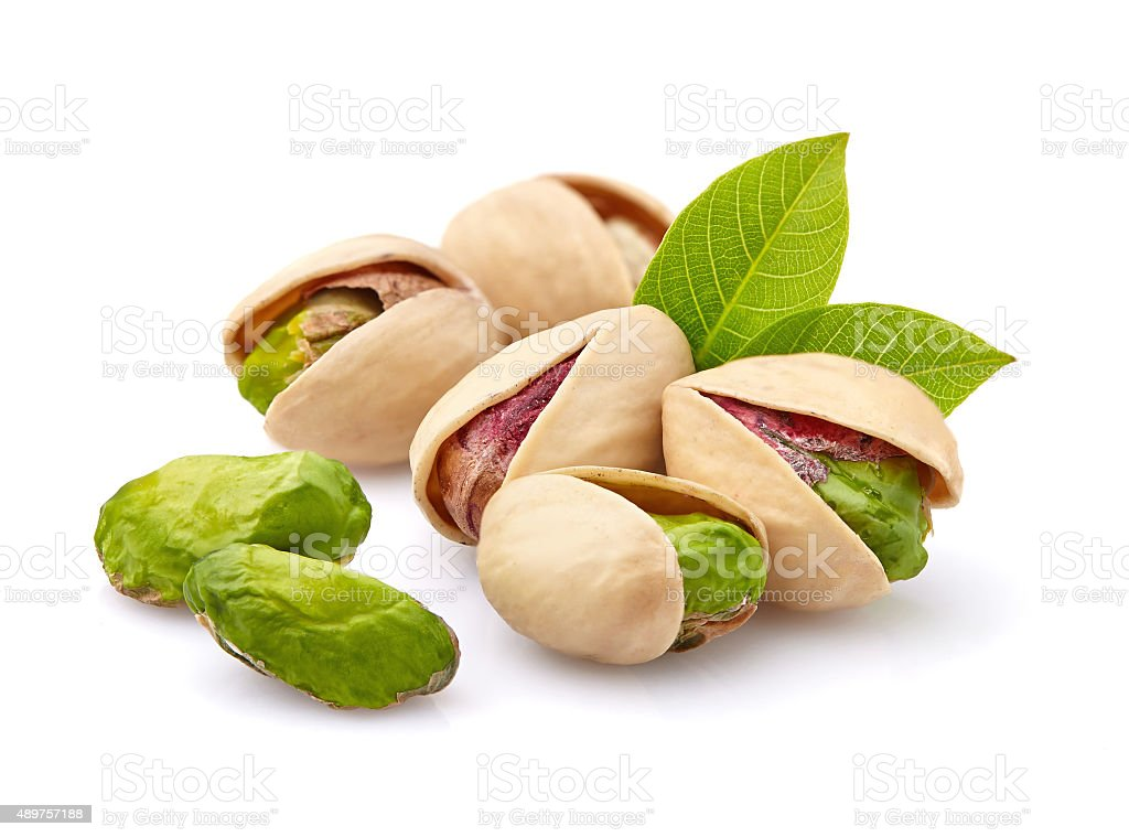 Pistachio in closeup stock photo