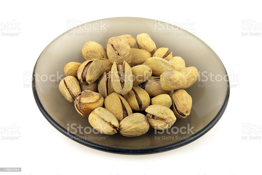pistachio nuts royalty-free stock photo