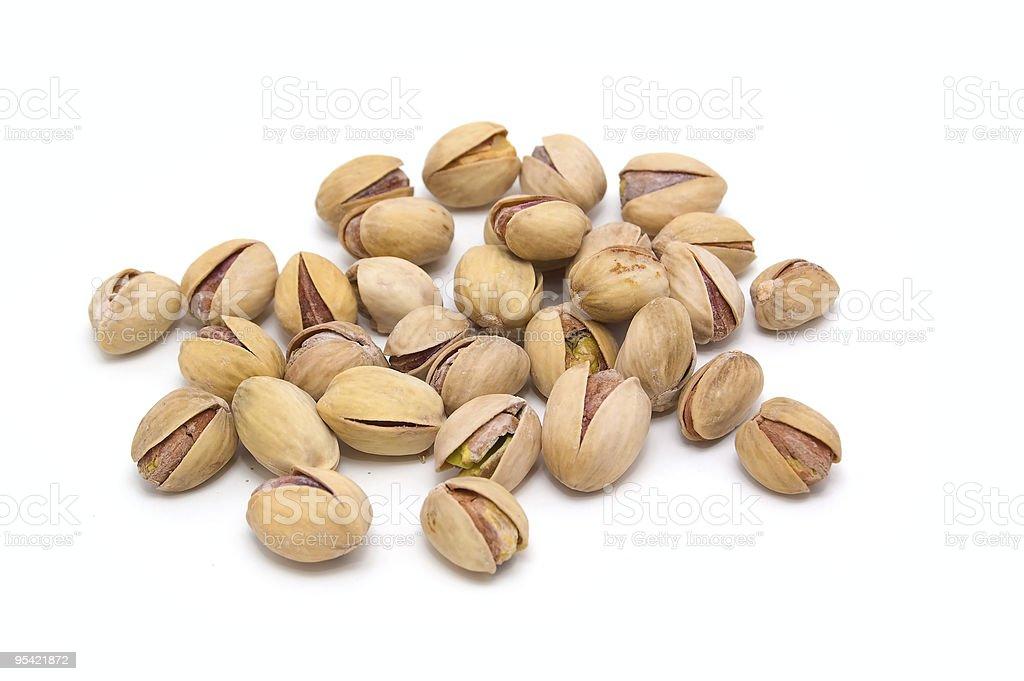 Pistachio nuts. royalty-free stock photo