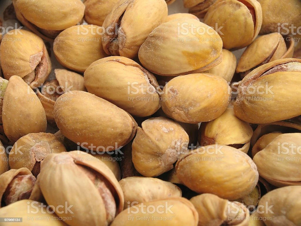Pistachio Pile royalty-free stock photo