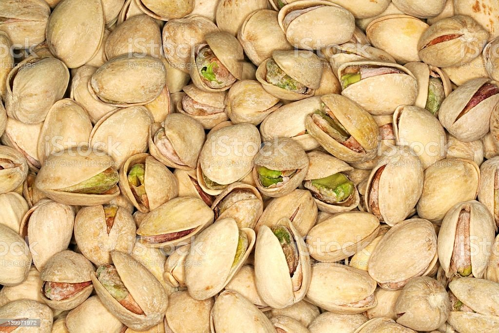 Pistachios - California Grown stock photo