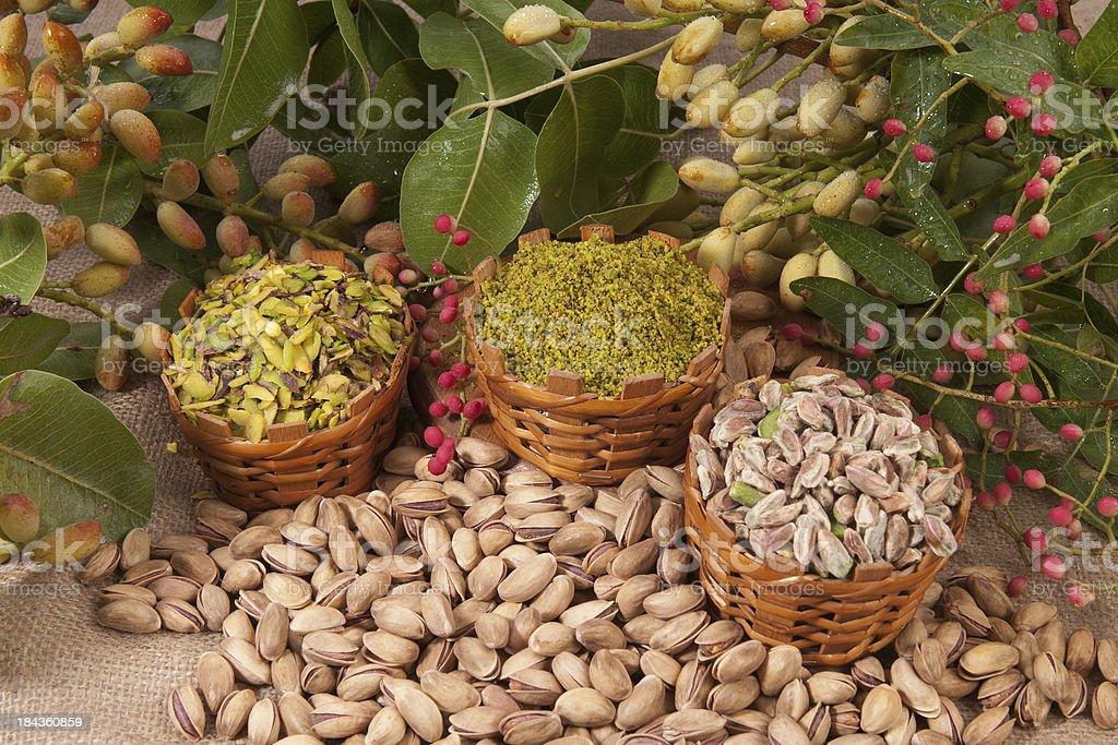 pistachios stock photo