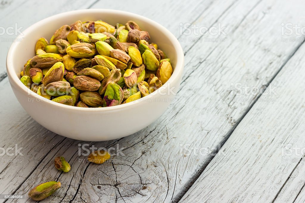 Pistachios stock photo
