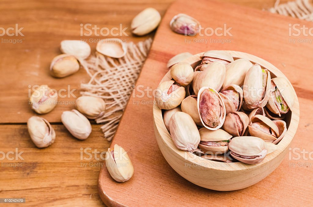 pistachios seed stock photo