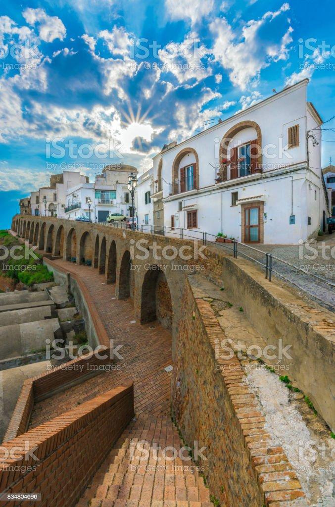 Pisticci (Matera, Italy) stock photo