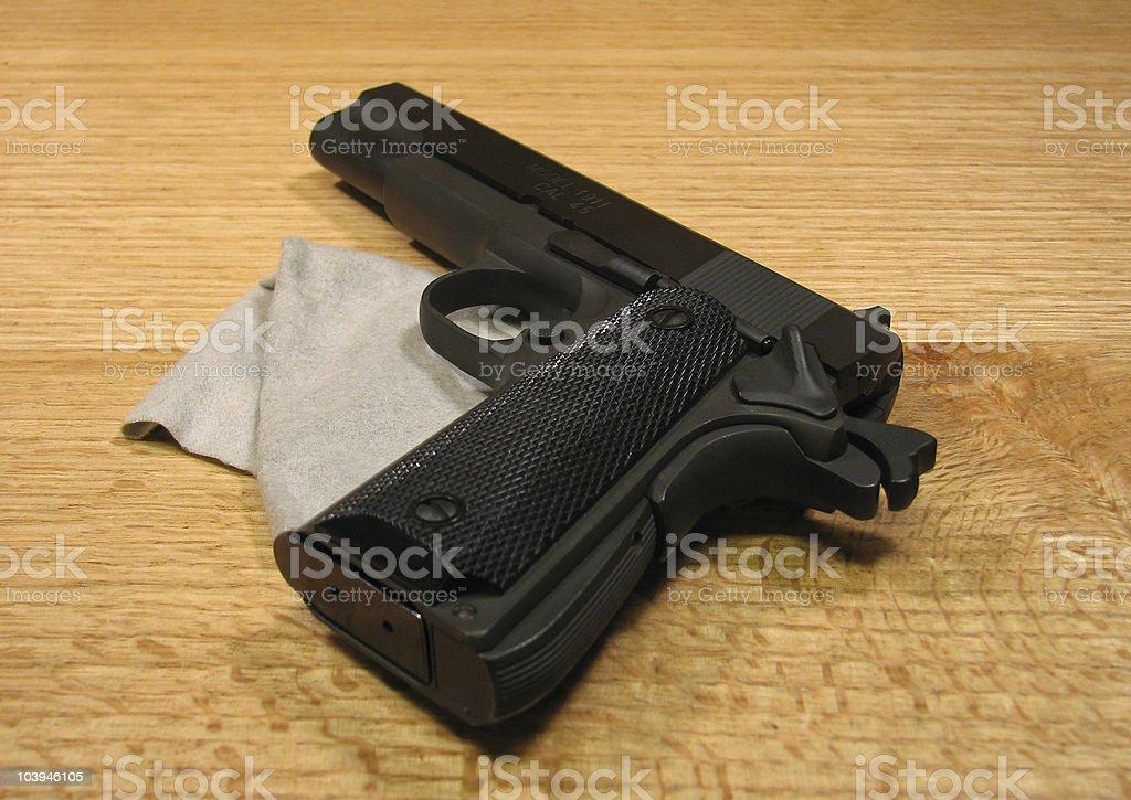 Pistol 1911 stock photo
