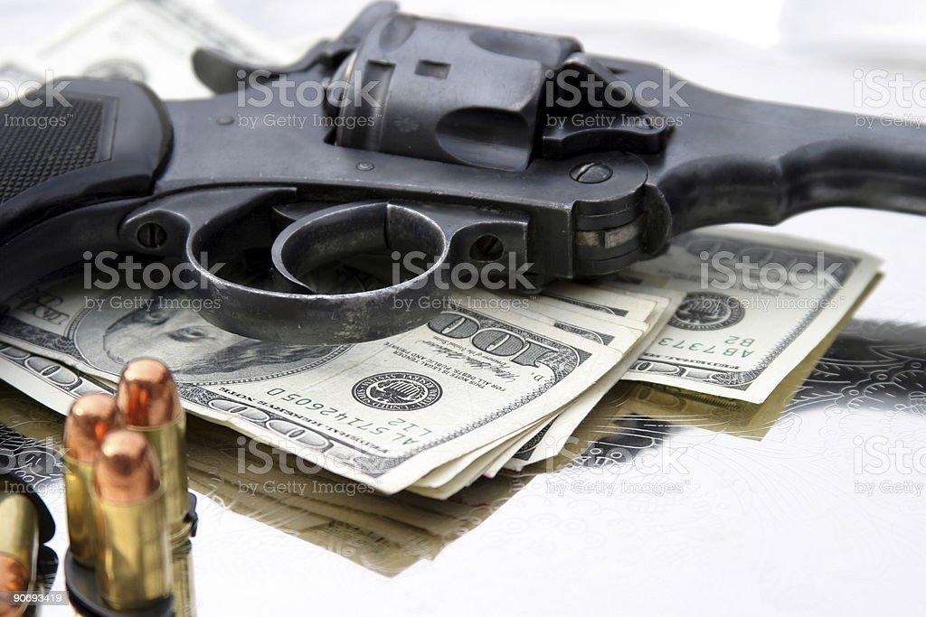 pistol #4 - .45 cal royalty-free stock photo