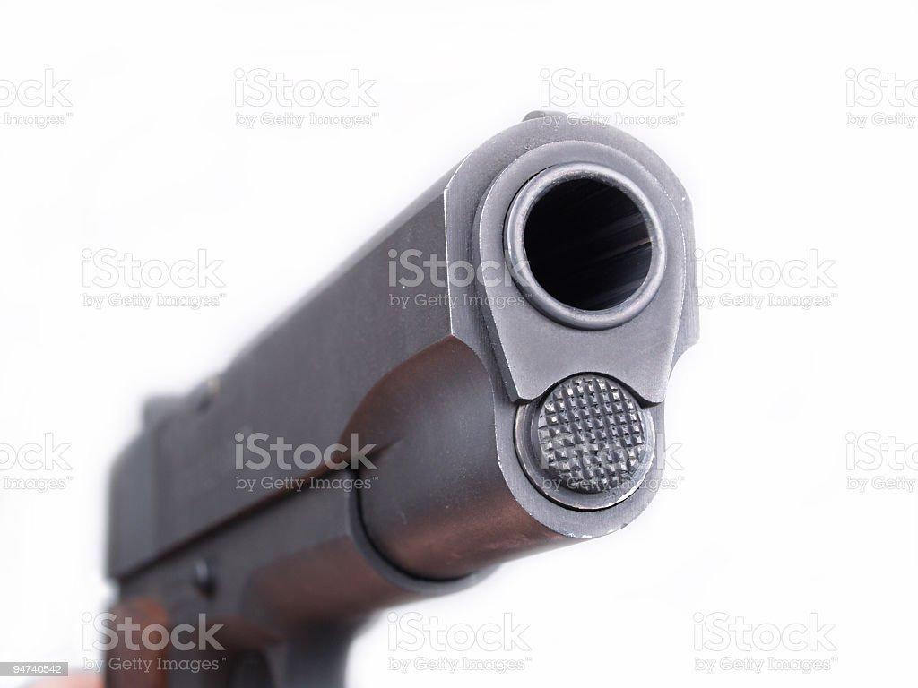 Pistol Barrel 3 royalty-free stock photo