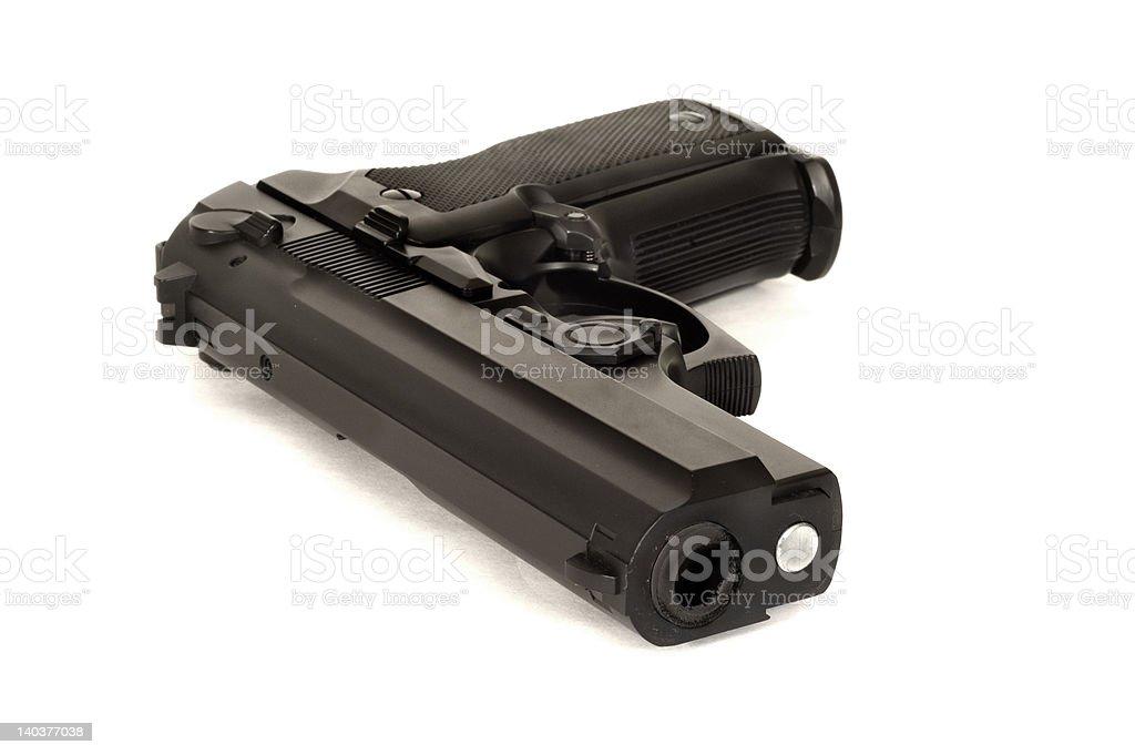 Pistol (Angled) stock photo