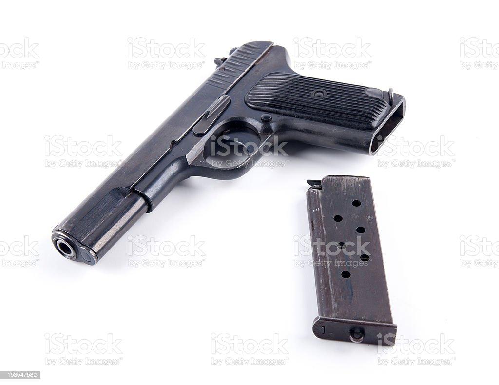 TT pistol stock photo
