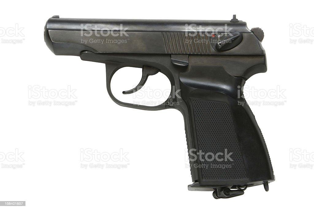 Pistol royalty-free stock photo