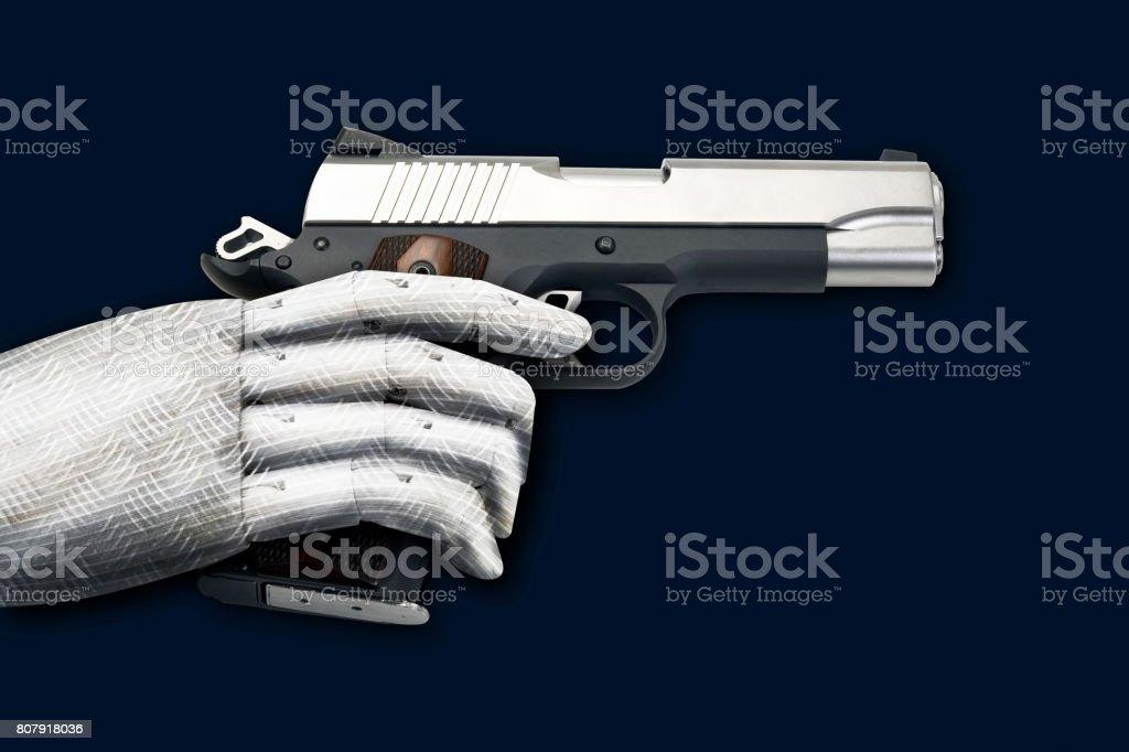 45 Pistol stock photo