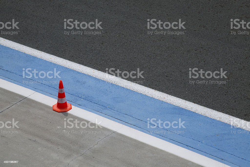 pit grid royalty-free stock photo