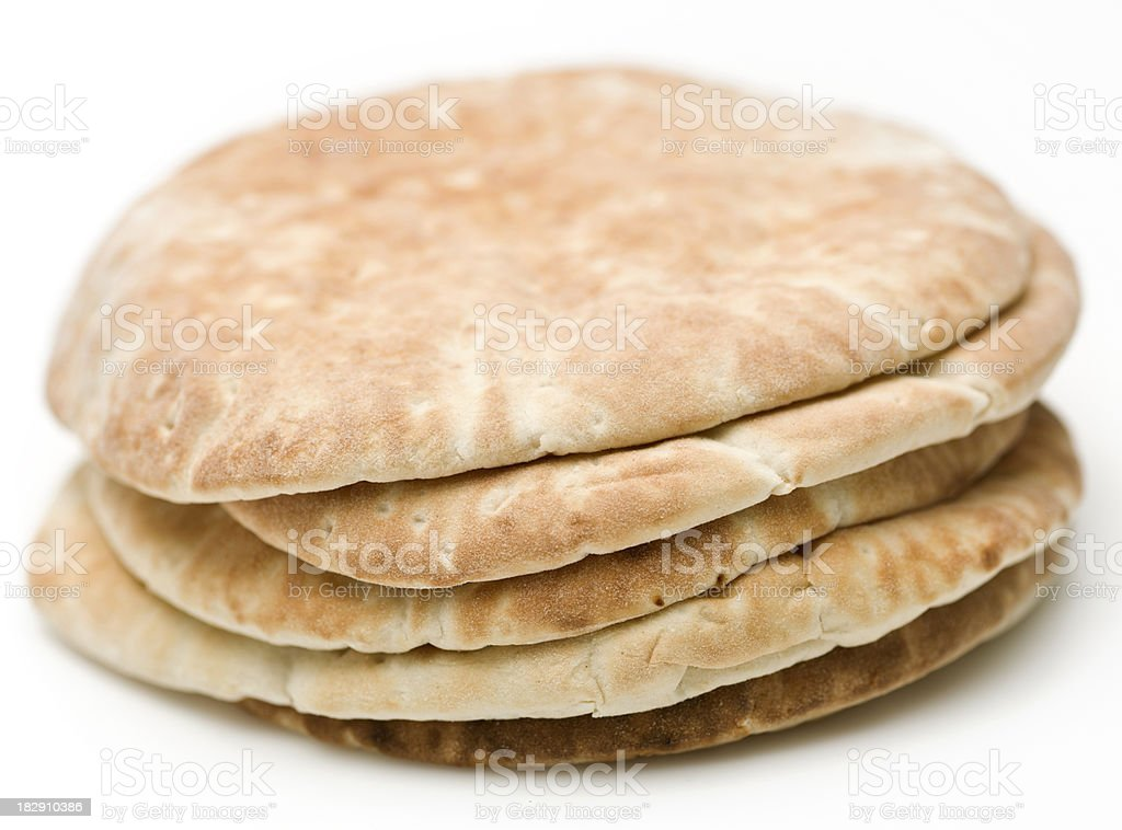 Pita Bread stock photo