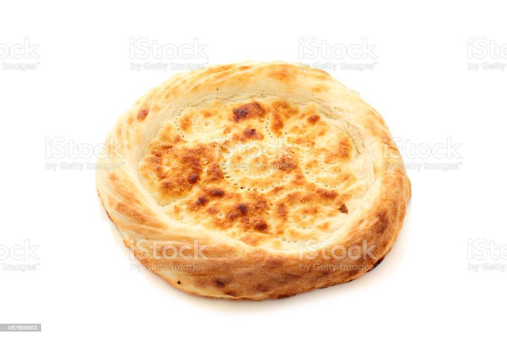Pita bread stock photo