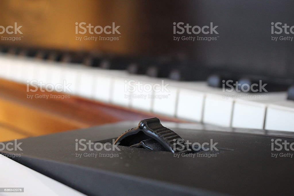 Pitch Modulation stock photo