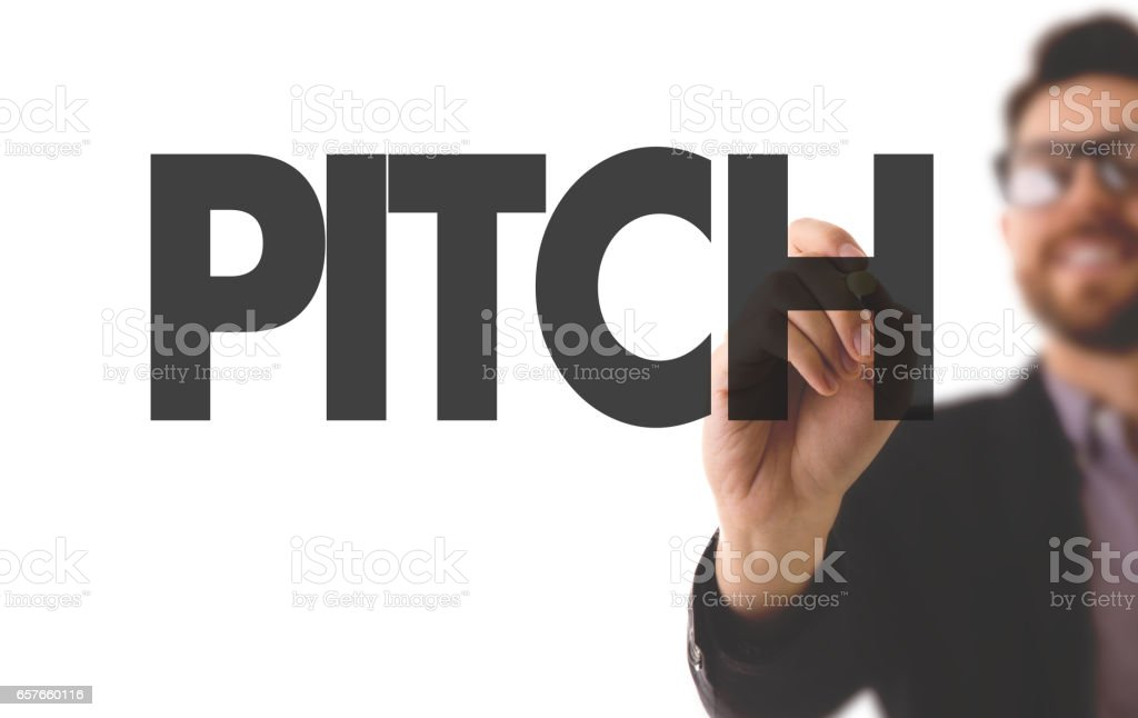 Pitch stock photo