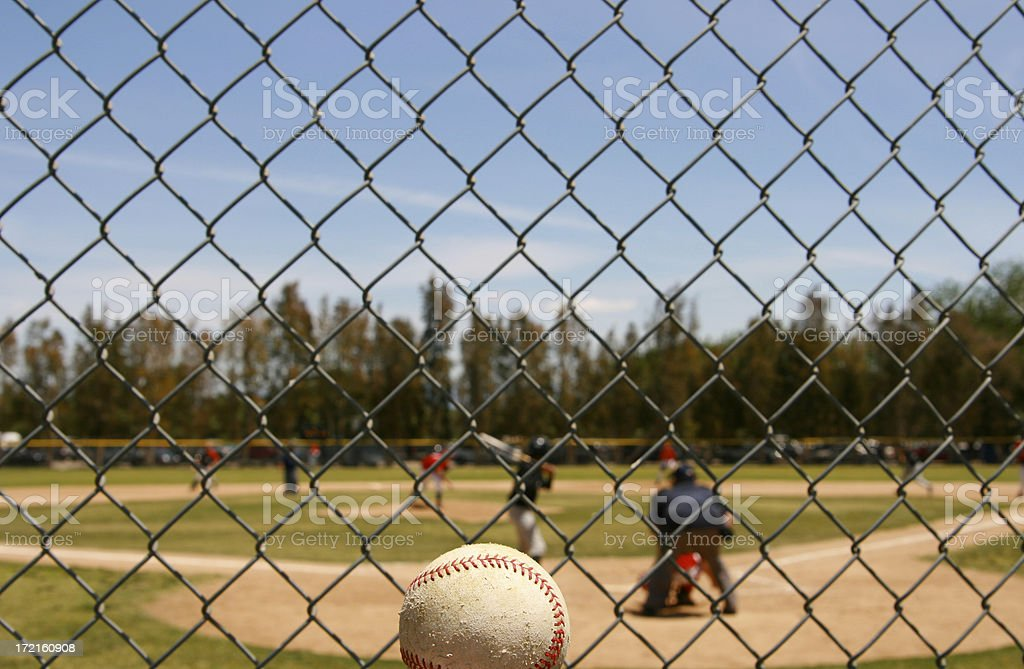 Pitch to Batter royalty-free stock photo