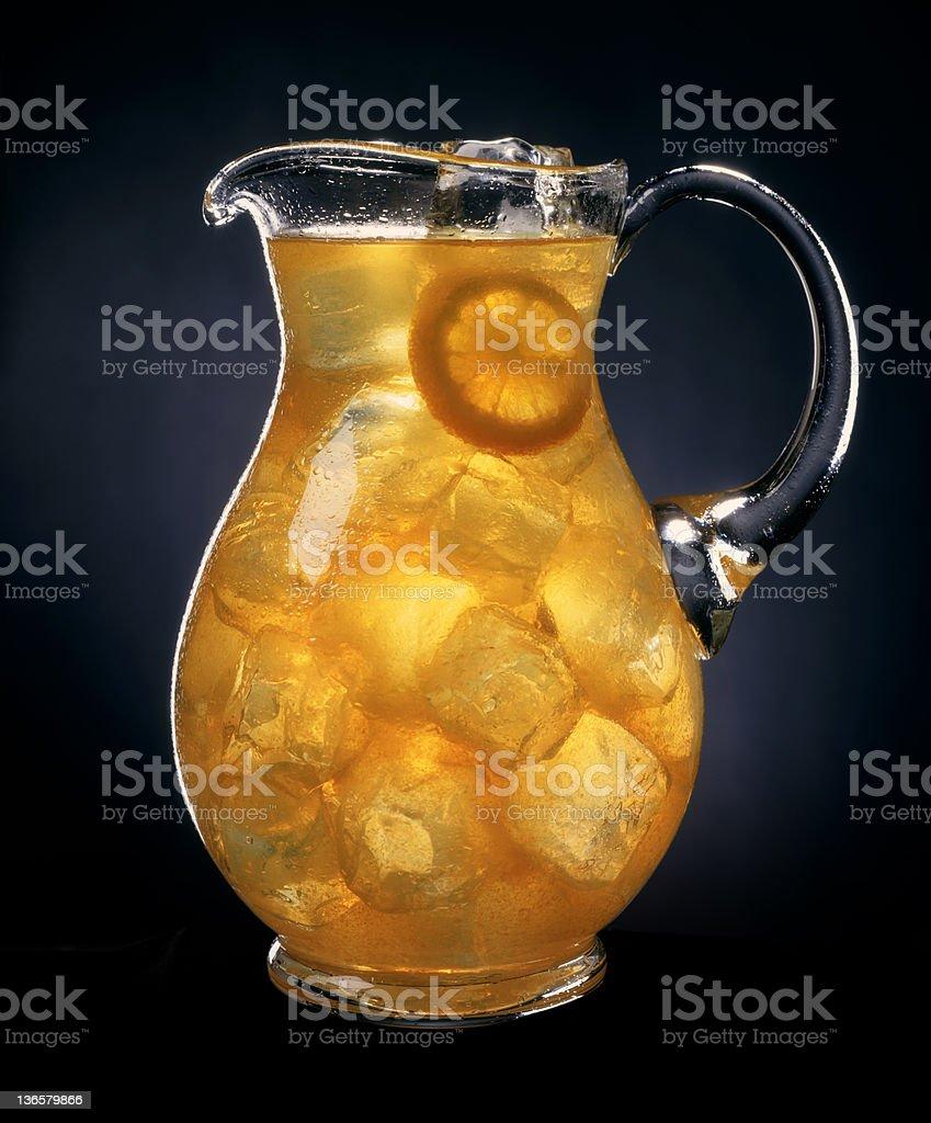 Pitcher Of Lemonade royalty-free stock photo