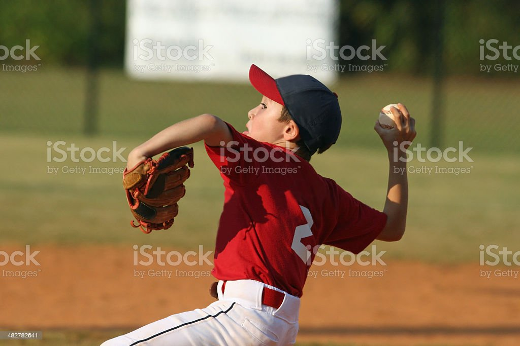 Pitcher stock photo