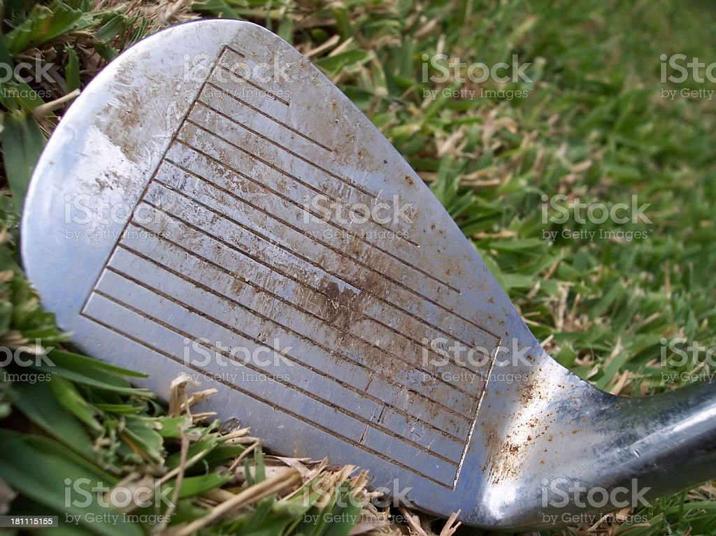 Pitching Wedge royalty-free stock photo