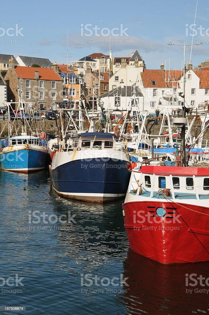 Pitenweem Fishing Boats royalty-free stock photo