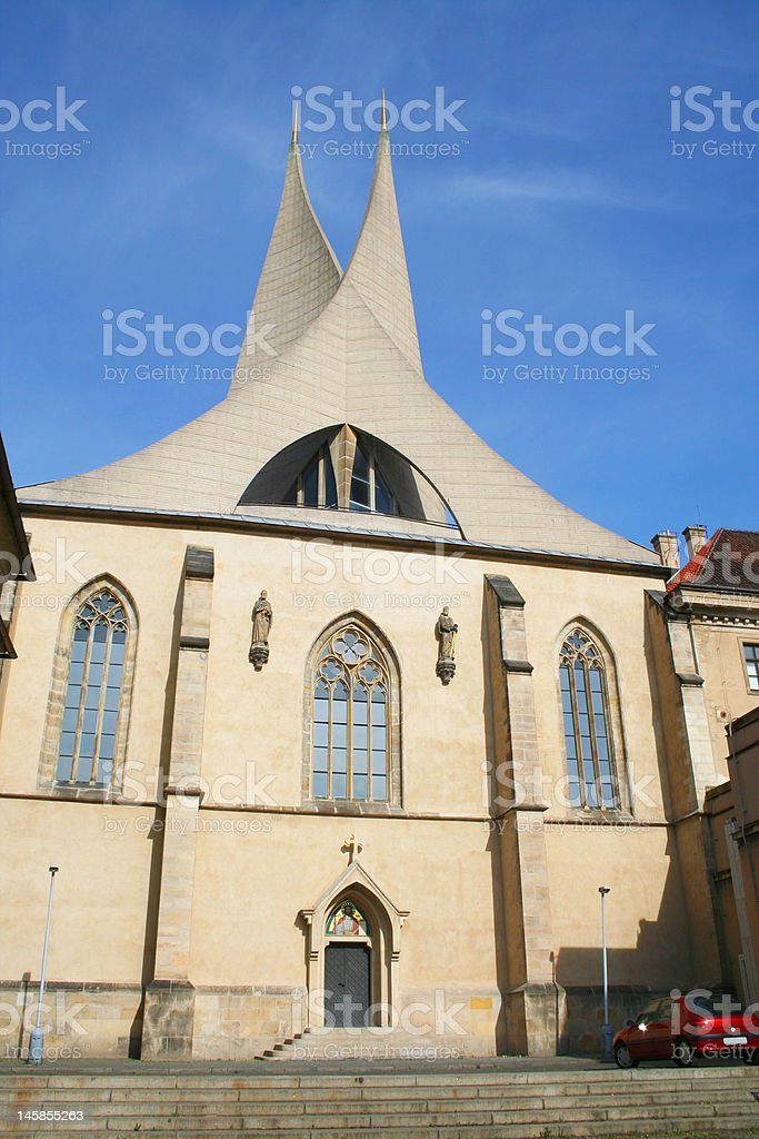 Piter and Paul church. Prague, Czuch royalty-free stock photo