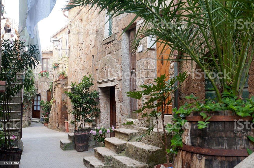 Pitigliano (Tuscany, Italy) stock photo