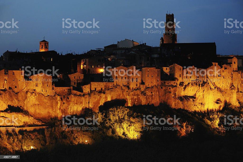 Pitigliano, Tuscany, Italy stock photo