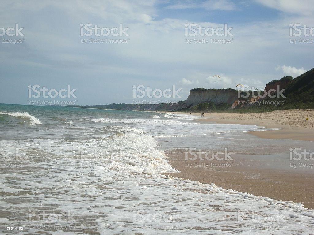 Pitinga beach, Arrajal D'ajuda - Brazil stock photo