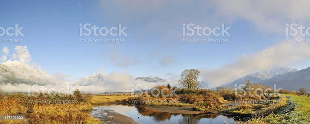 Pitt Polder Autumn stock photo