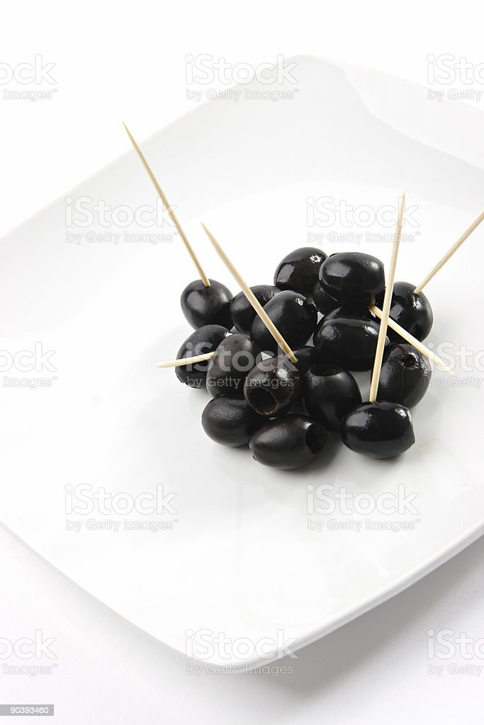 Pitted Olives royalty-free stock photo